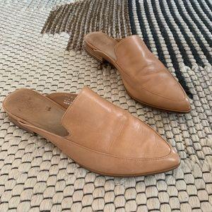 Halogen Shoes - Halogen leather slides